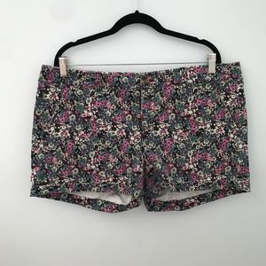 Floral American Eagle shorts